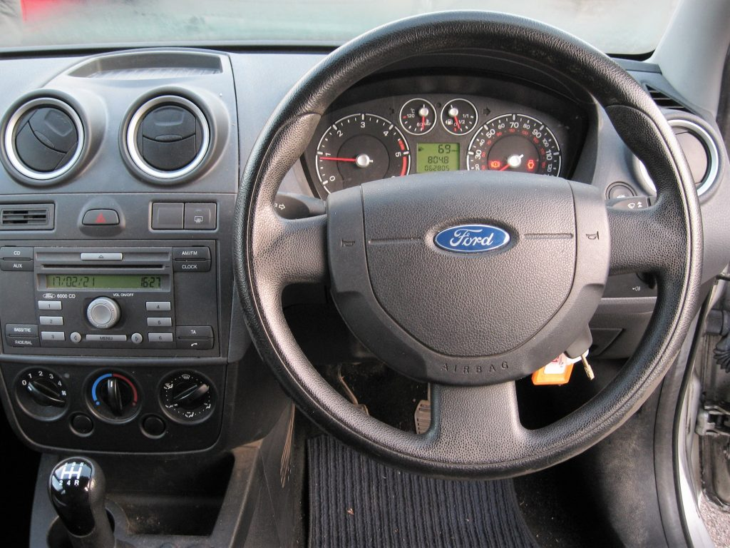 Ford Fiesta 1.4 TDCi - dashboard