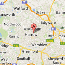 Buntings of Harrow location