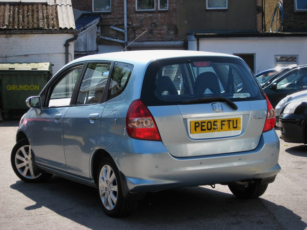 Honda Jazz 1.4 SE CVT Auto - rear view