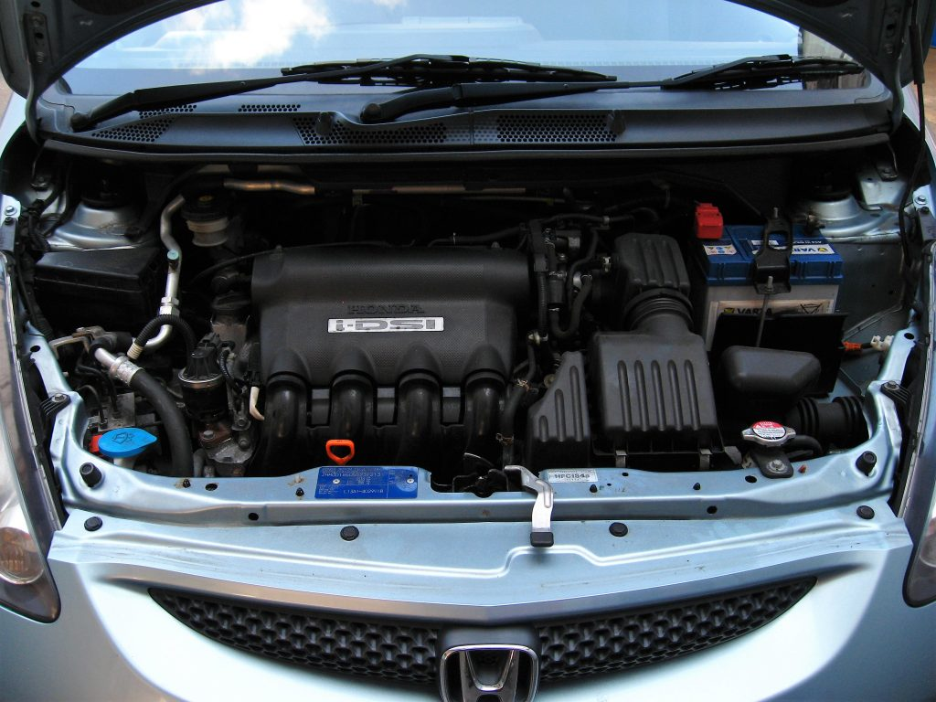 Honda Jazz 1.4 SE CVT Auto - under bonnet