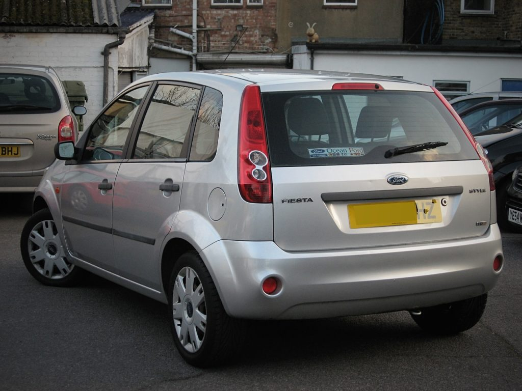 Ford Fiesta 1.4 TDCi - rear view