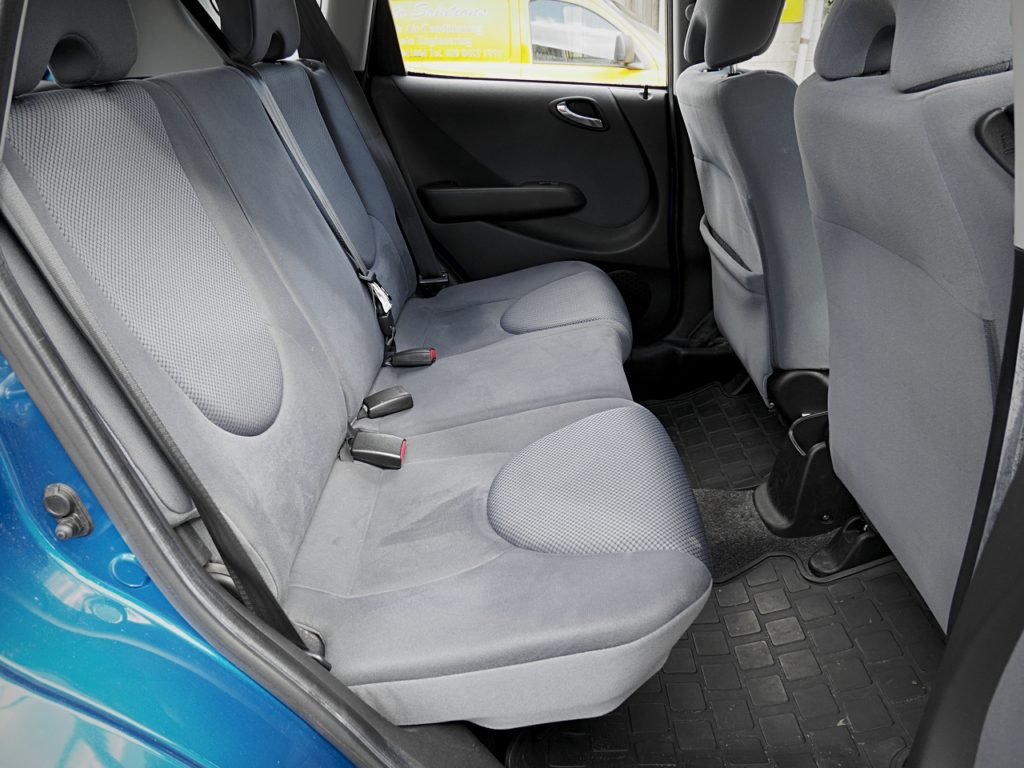 Honda Jazz 1.4 DSi SE - rear seats