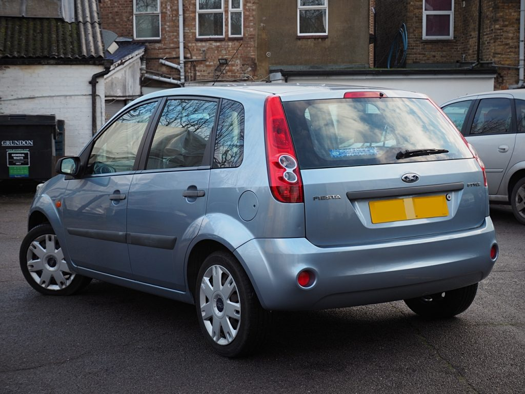 Ford Fiesta 1.2 Style Climate - rear view