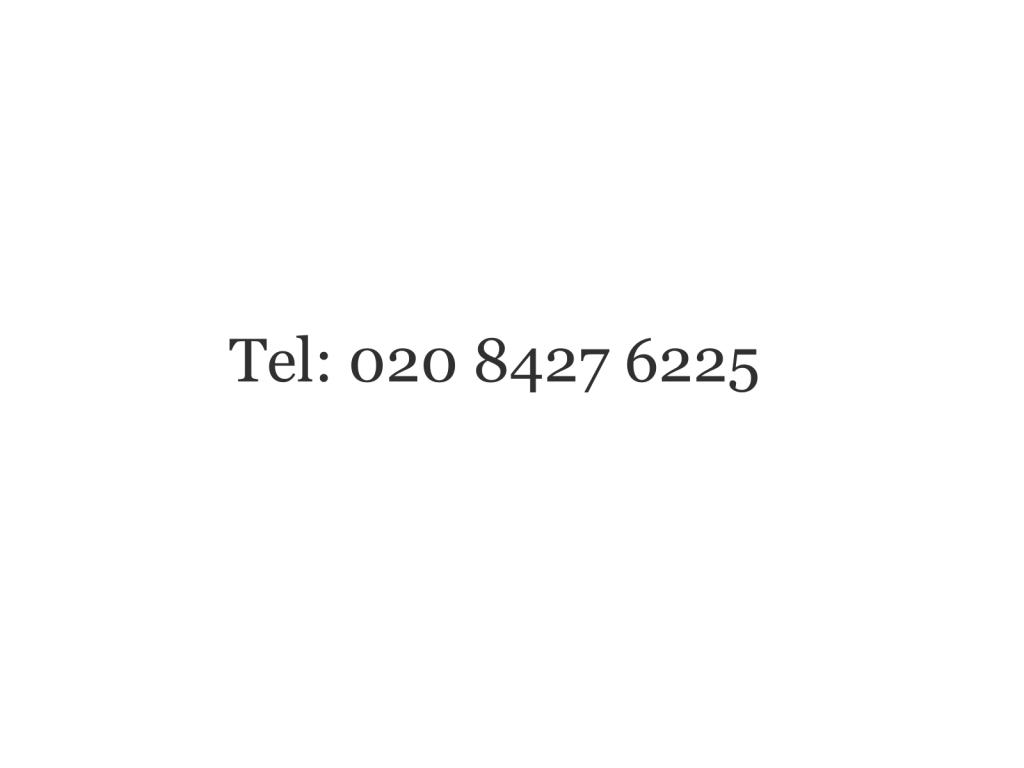 Telephone Buntings of Harrow - 020 8427 6225