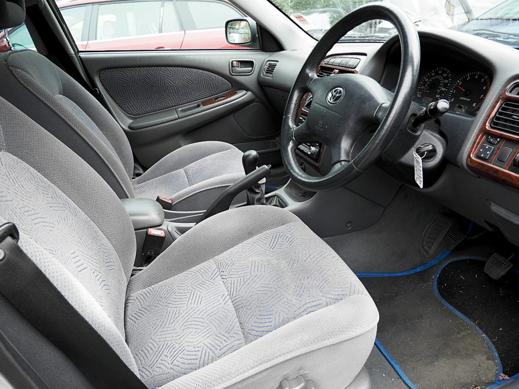 Toyota Avensis 1.8GS - drivers seat